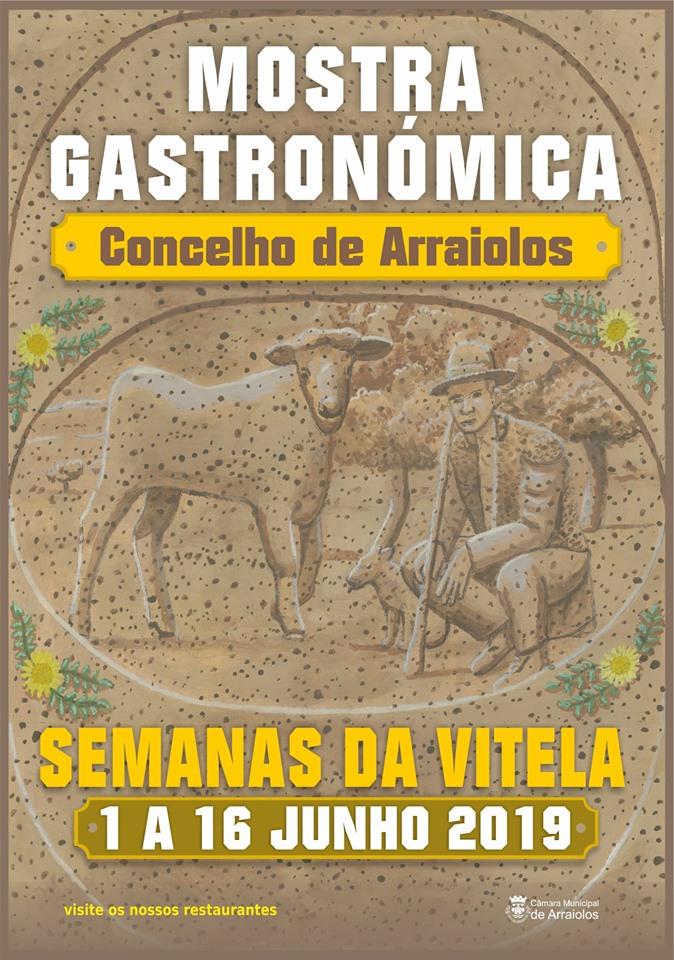 MOSTRA GASTRONÓMICA DA VITELA - CONCELHO DE ARRAIOLOS - 01 A 16 DE JUNHO DE 2019.
