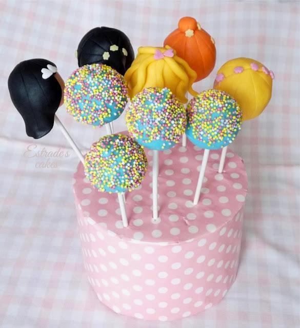 cake pops de muñecas - 3