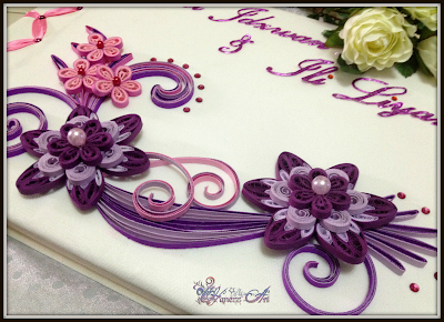 Hanezz Art: Guestbok: Ili\u0026#39;s Wedding!! Puerple \u0026 Pink.. :D