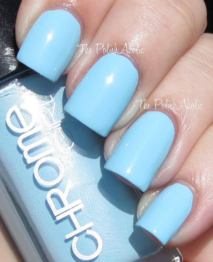 The PolishAholic: Chrome Girl Nail Lacquer Swatches & Review