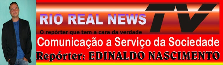 Repórter do RIO REAL NEWS TV