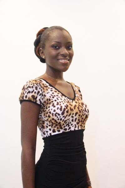 Miss World Cote d'Ivoire 2012 winner Helene Valerie Djouka