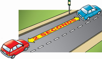 Safe Driving Distance Between Cars On Highway
