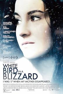 Pájaro Blanco de la Tormenta de Nieve Poster