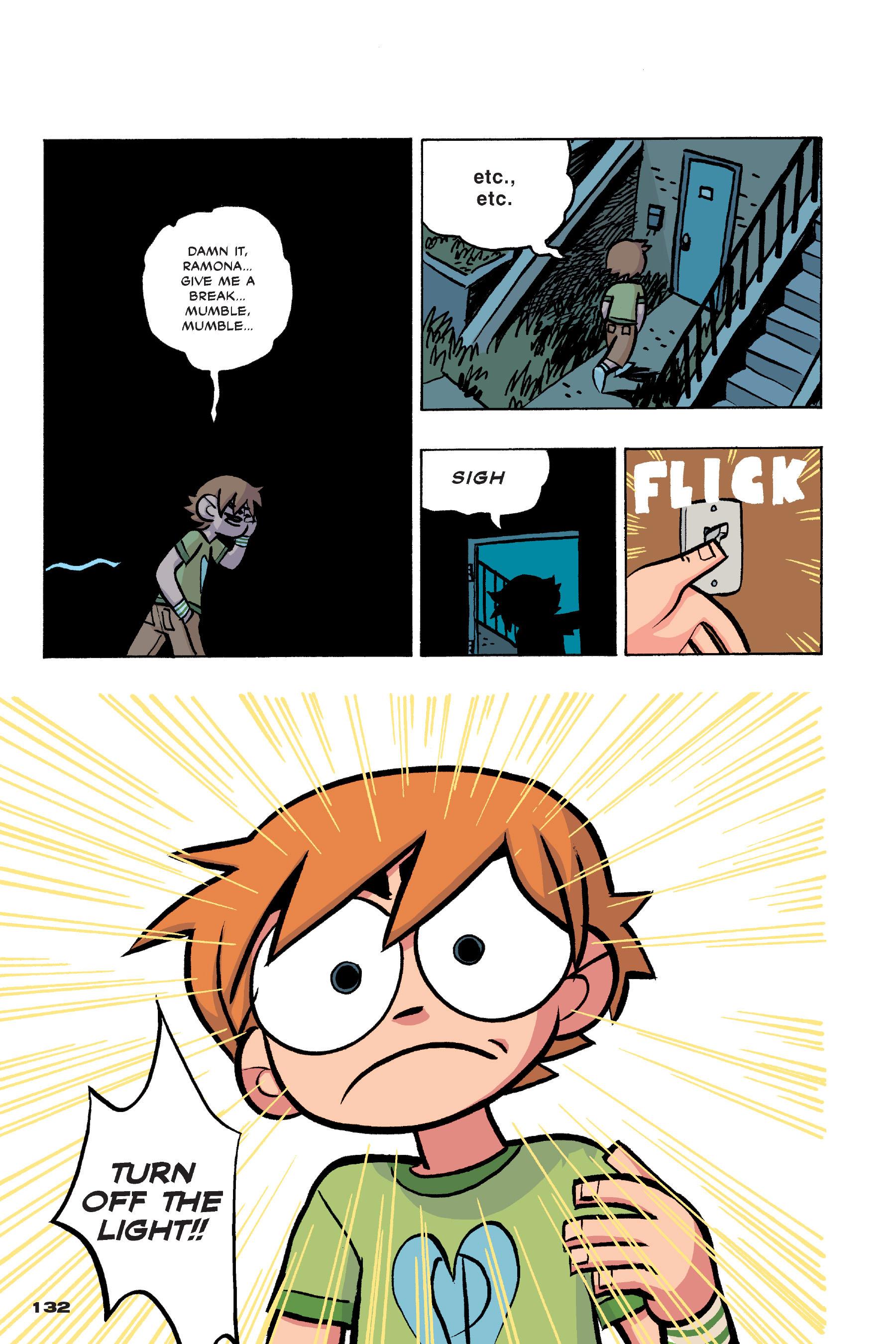 Read online Scott Pilgrim comic -  Issue #4 - 129
