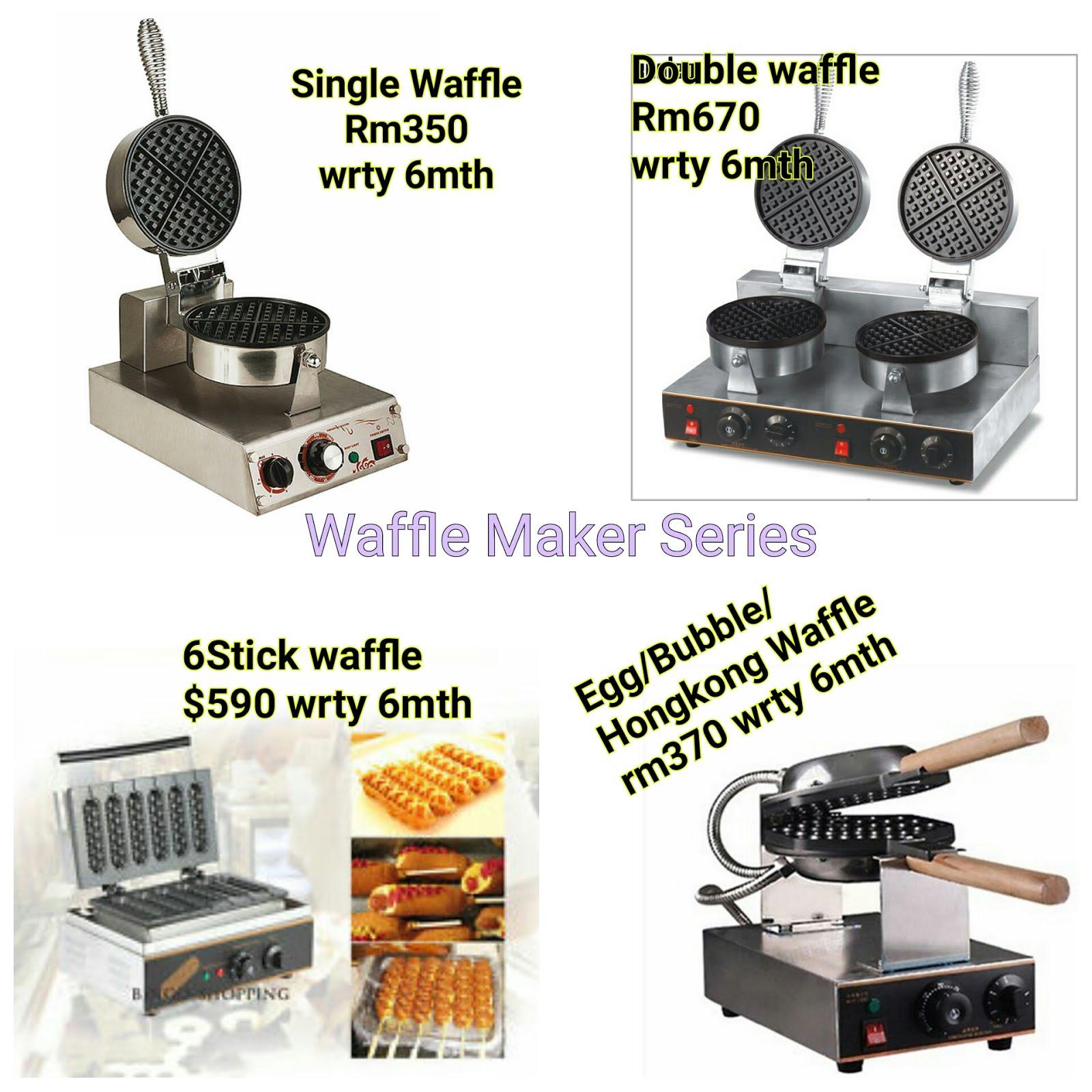 Kateloq Waffle Machine