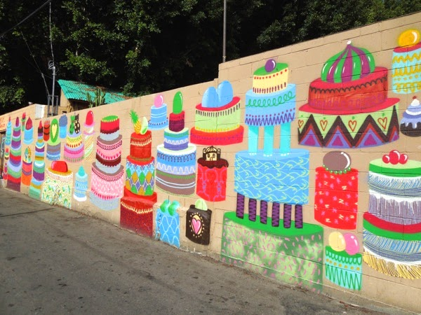 50 wedding cakes of gay mural Kashink OverUnder