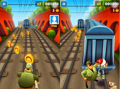 game subway surfers cho mobile