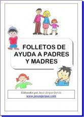 Folletos de ayuda a madres y padres.