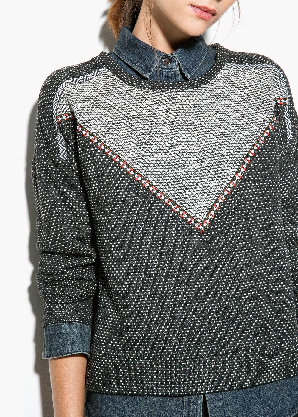 grey mango jumper