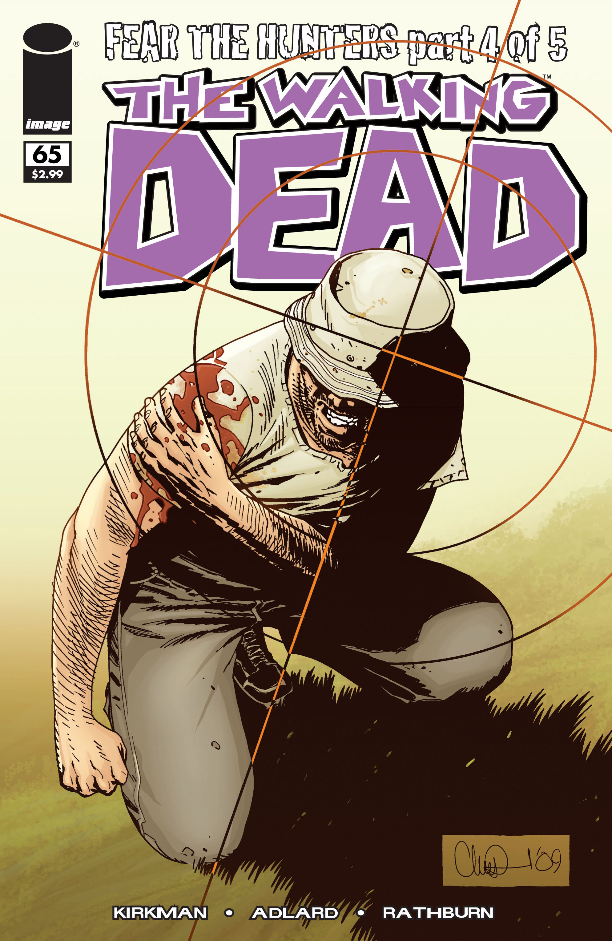 The Walking Dead Issue #65 Page 1