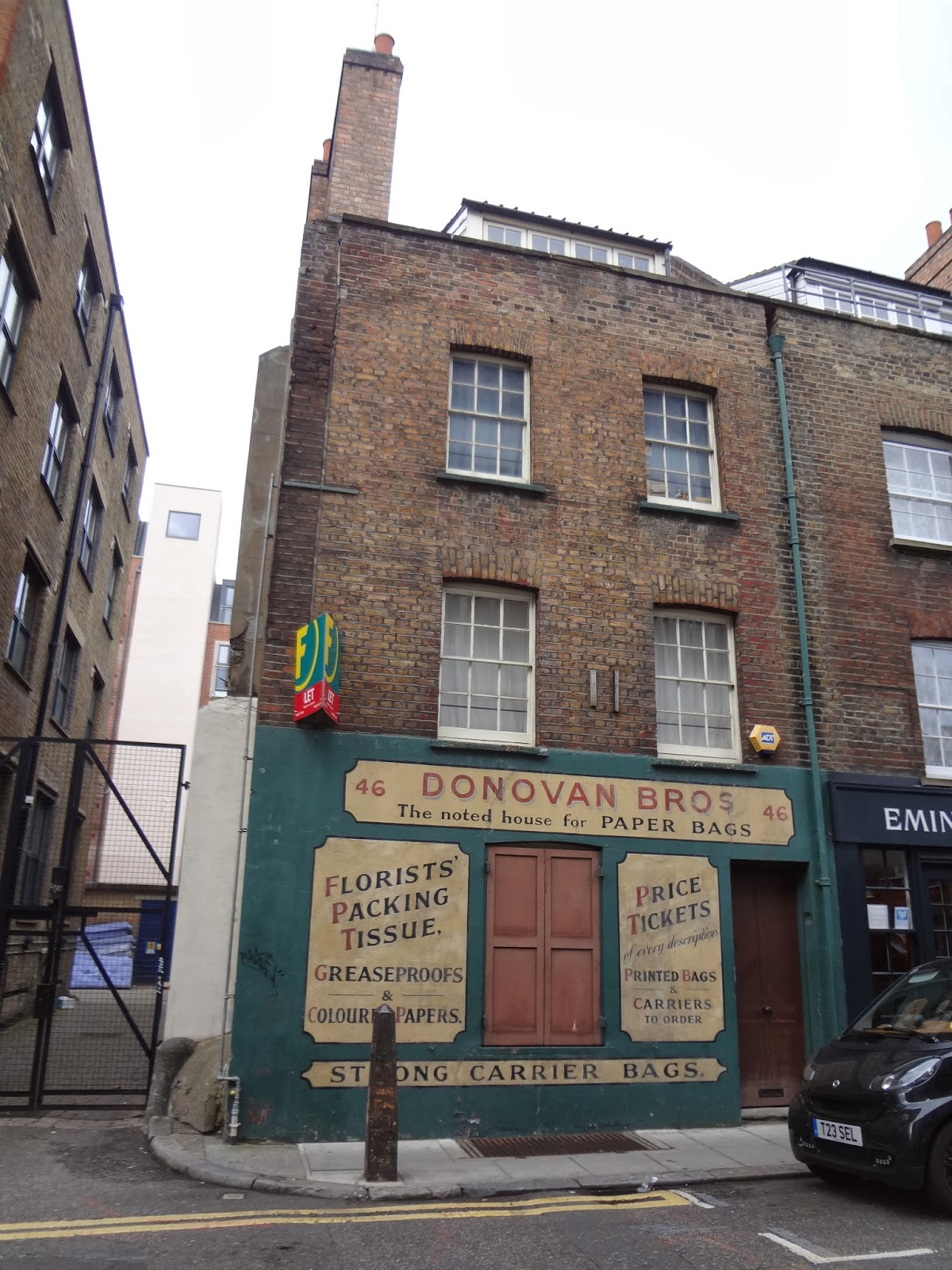 Eating London Food Tour Review Irish history
