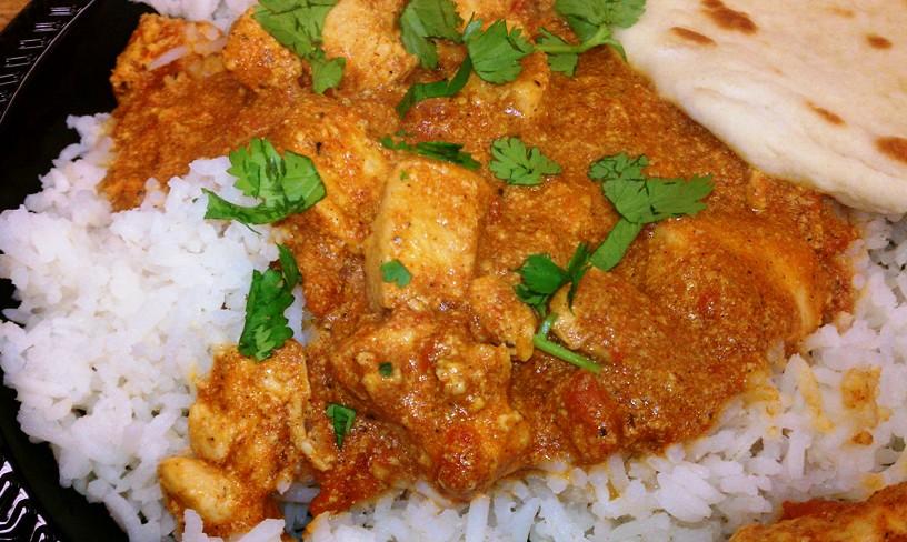 chicken tikka masala* | croutons & cupcakes*