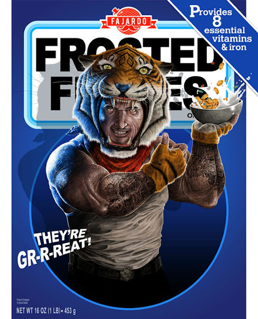 Realistic Illustrations Of Cereal Mascots by Guillermo Fajardo