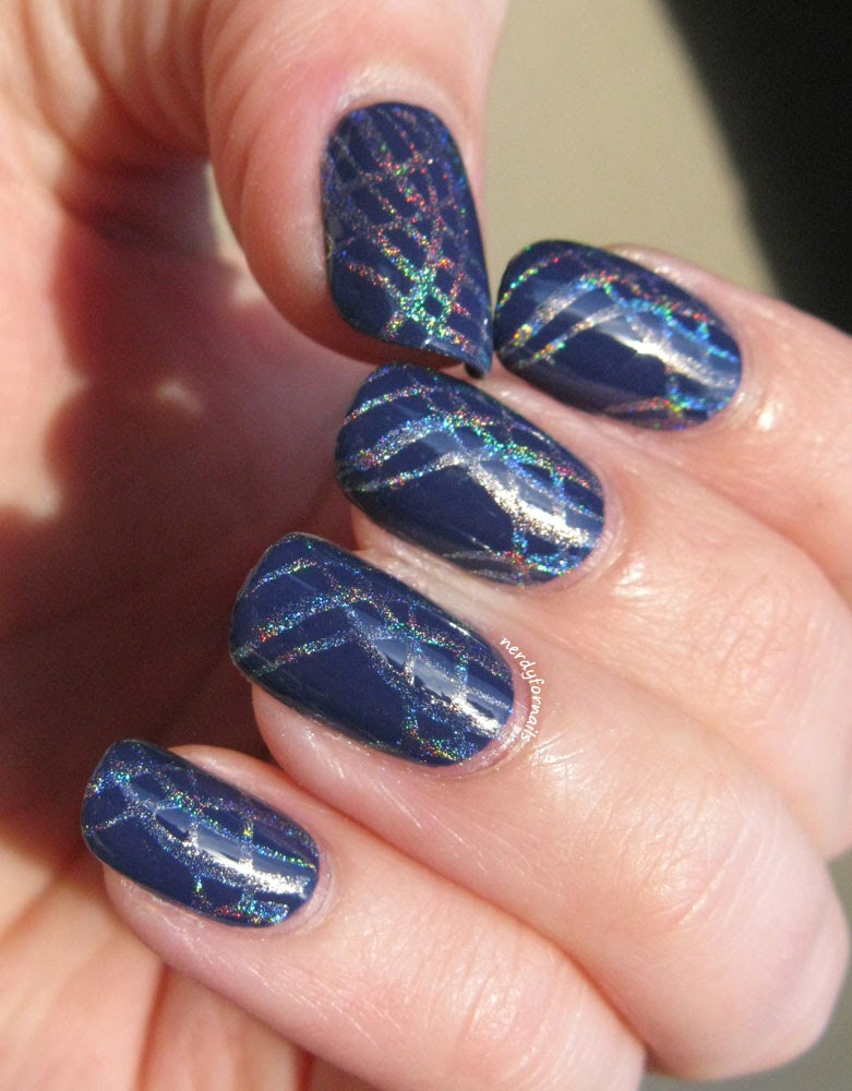 China Glaze Queen B with Holo Bundle Monster Stamping