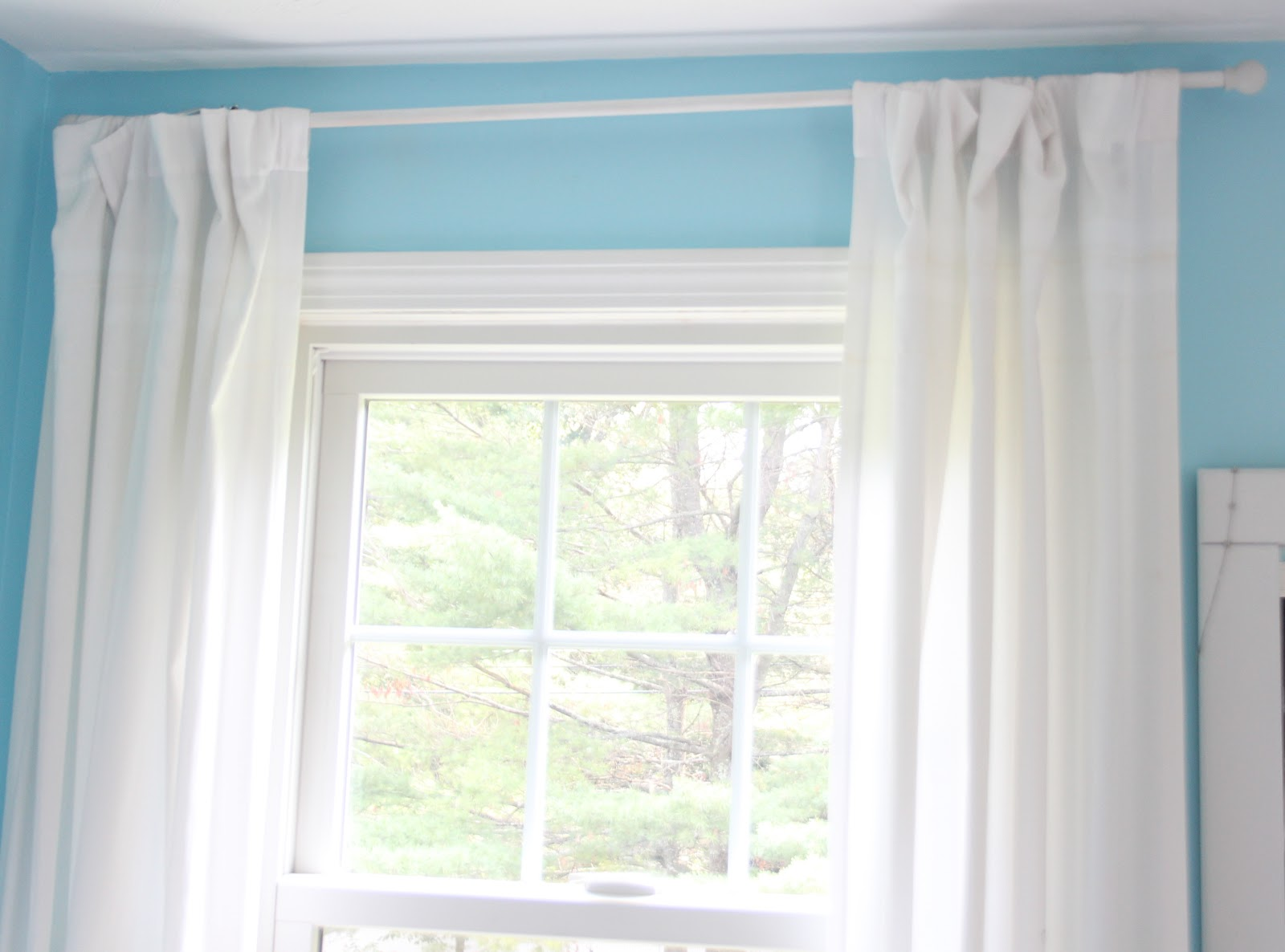 curtain pertaining with home extraordinary ring inch curtains wood decor dark clip to interior clips your comfy rings idea