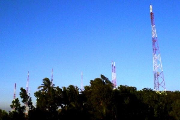 Menara Telekomunikasi. Kotabumi Lampung Utara