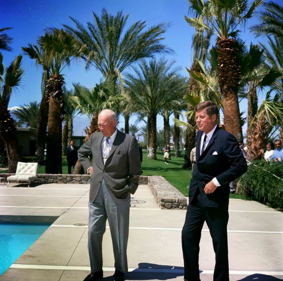 JFK and IKE