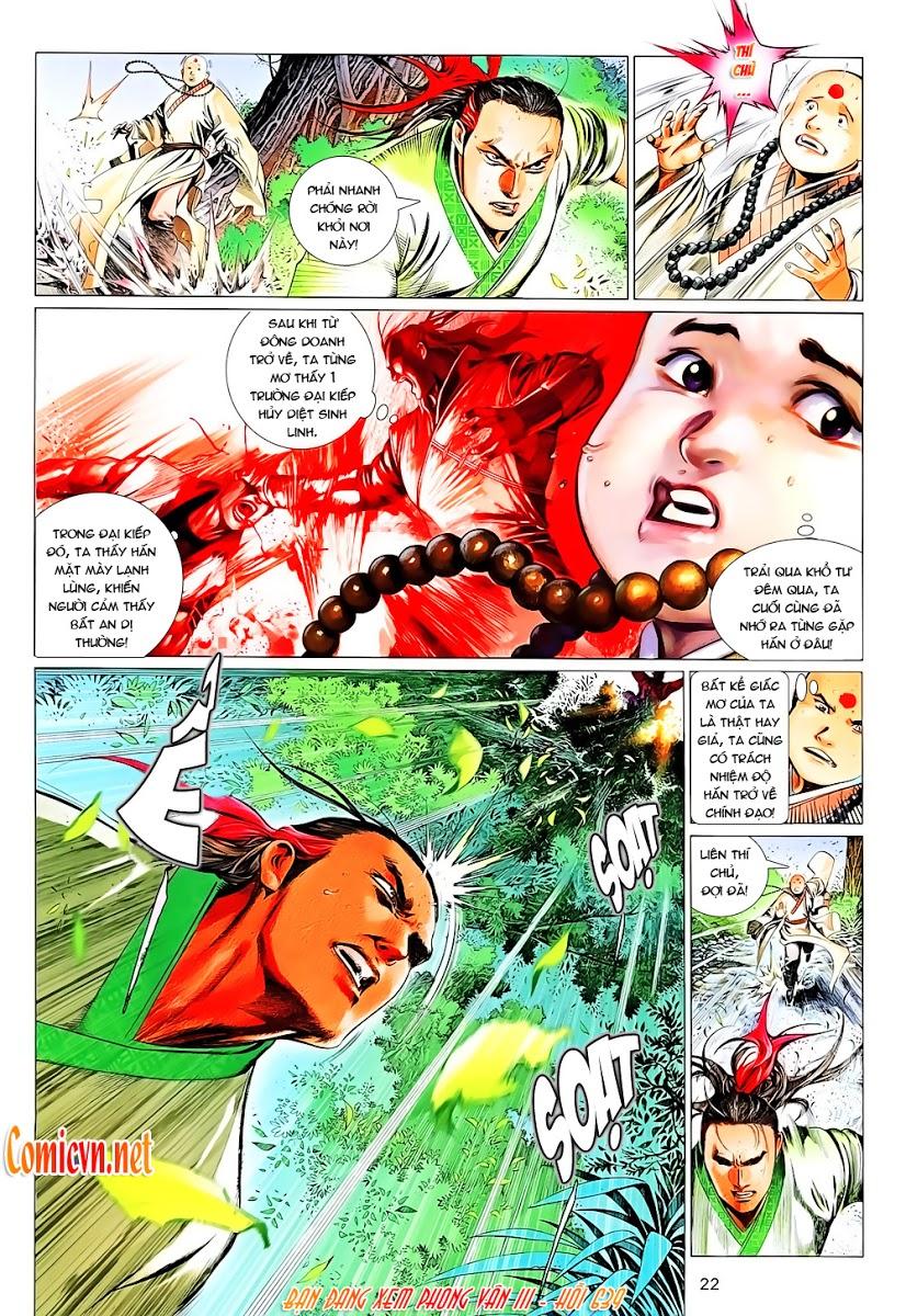 Phong Vân chap 639 Trang 22 - Mangak.info