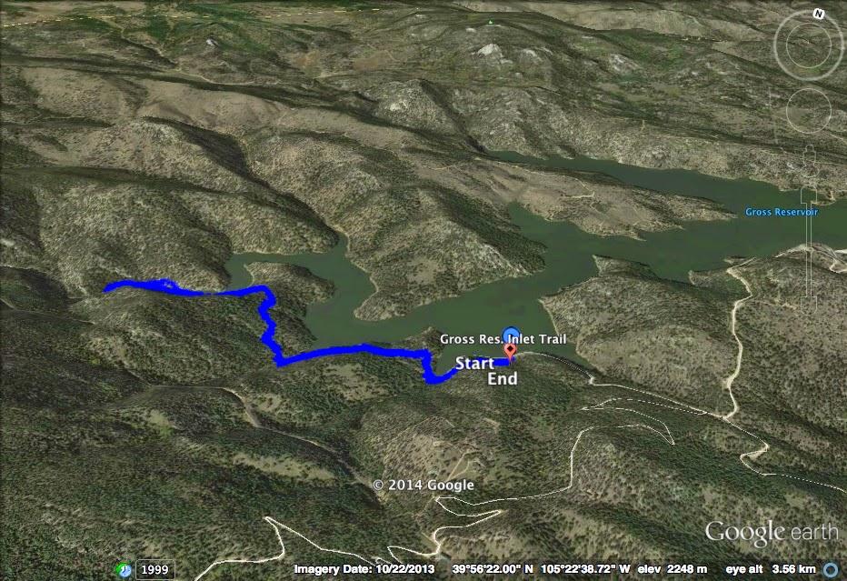 Go hike colorado s boulder creek inlet trail gross for Boulder creek fishing