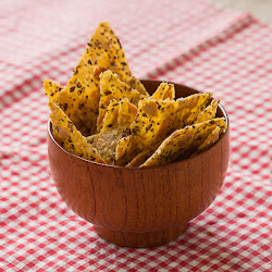 Brzi kukuruzni krekeri sa semenkama