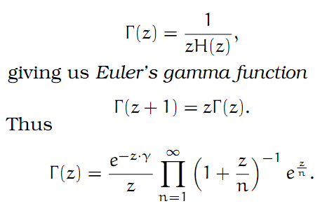 Complex Analysis: #26 The Gamma Function I equation pic 7