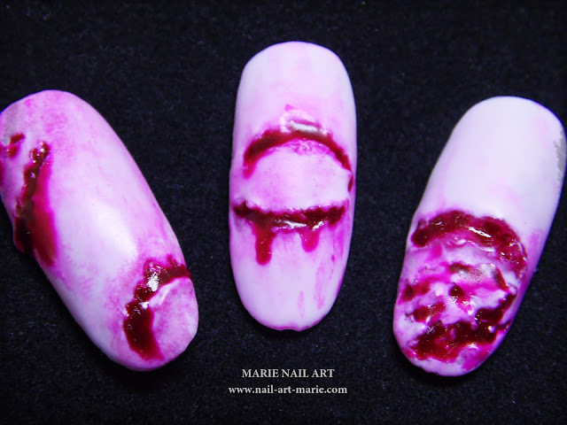Nail Art The Walking Dead2