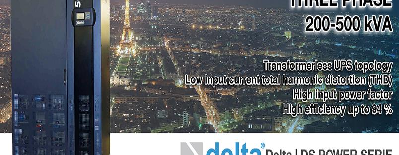 Bộ lưu điện UPS Delta xuất xứ từ Châu Âu