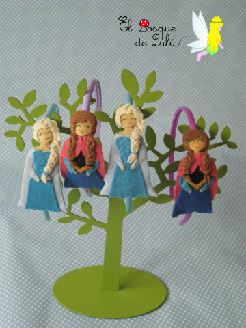 diademas-en-fieltro-Frozen-Elsa-Anna-regalo-niña-infantil-Disney-tocado-pelo