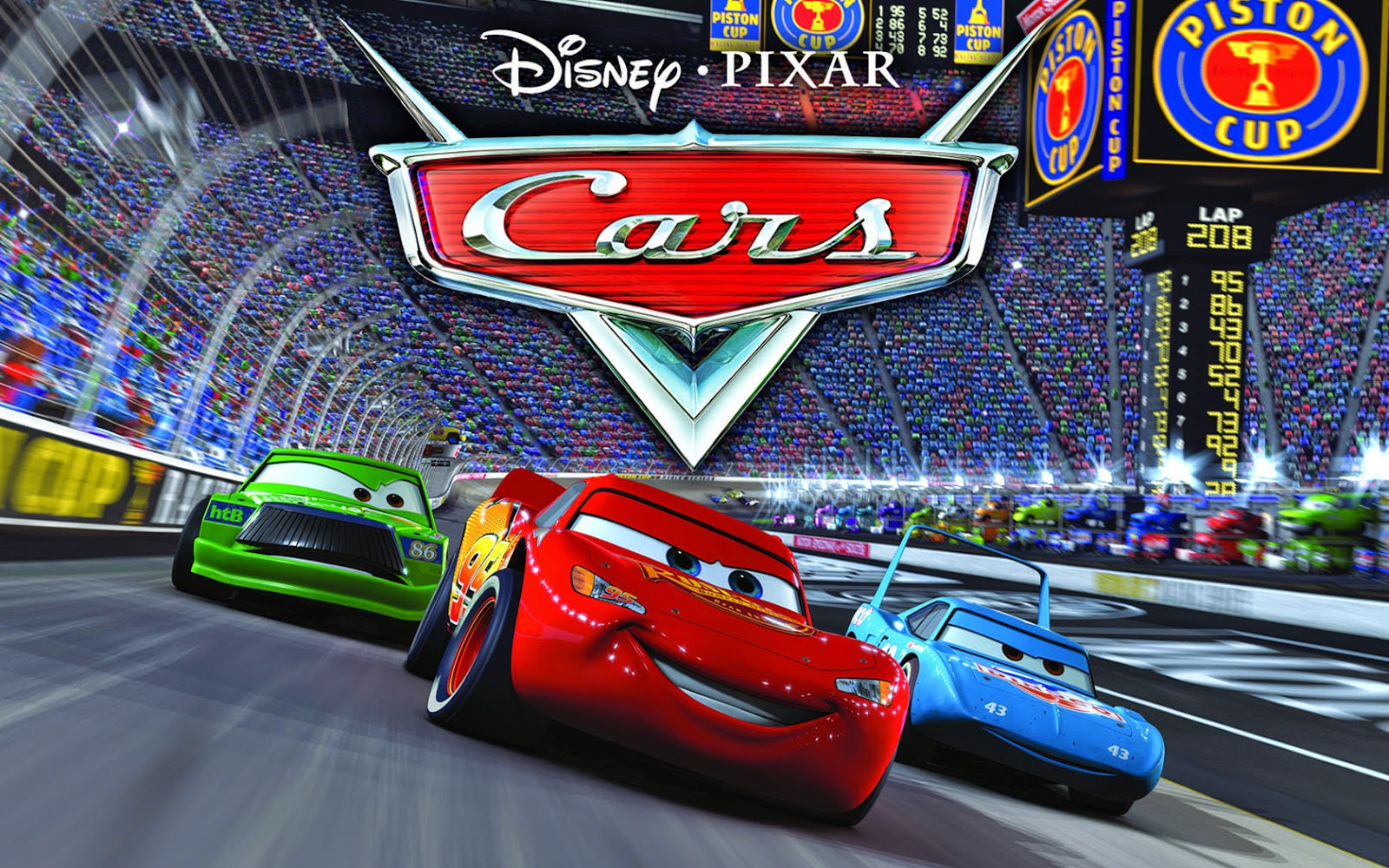 Disney Cars Light Switch Cover