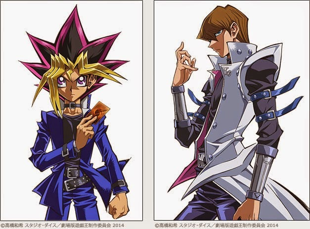 Yu-Gi-Oh! 20th Anniversary movie Yugi and Kaiba individual character image 00