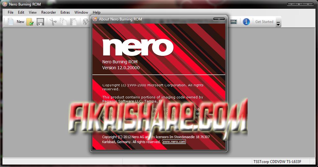 Nero burning rom 12 serial key generator