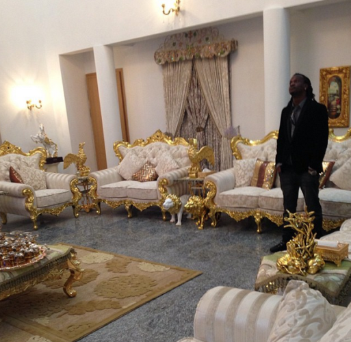 Peter Okoye Shows Off Stunning And Lavish Sitting Dining Room Welcome To Linda Ikeji 39 S Blog
