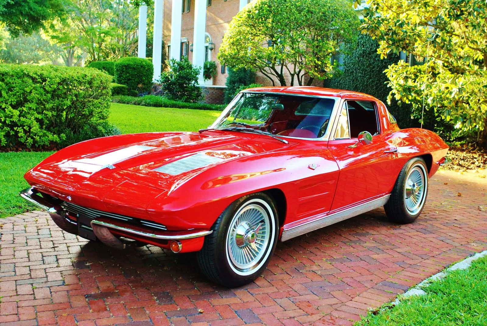 1963 chevrolet corvette split window 327 v8 muscle car