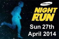 Samsung 10k Night Run in Cork City