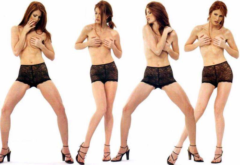Fotos De Angie Everhart Desnuda Y Topless