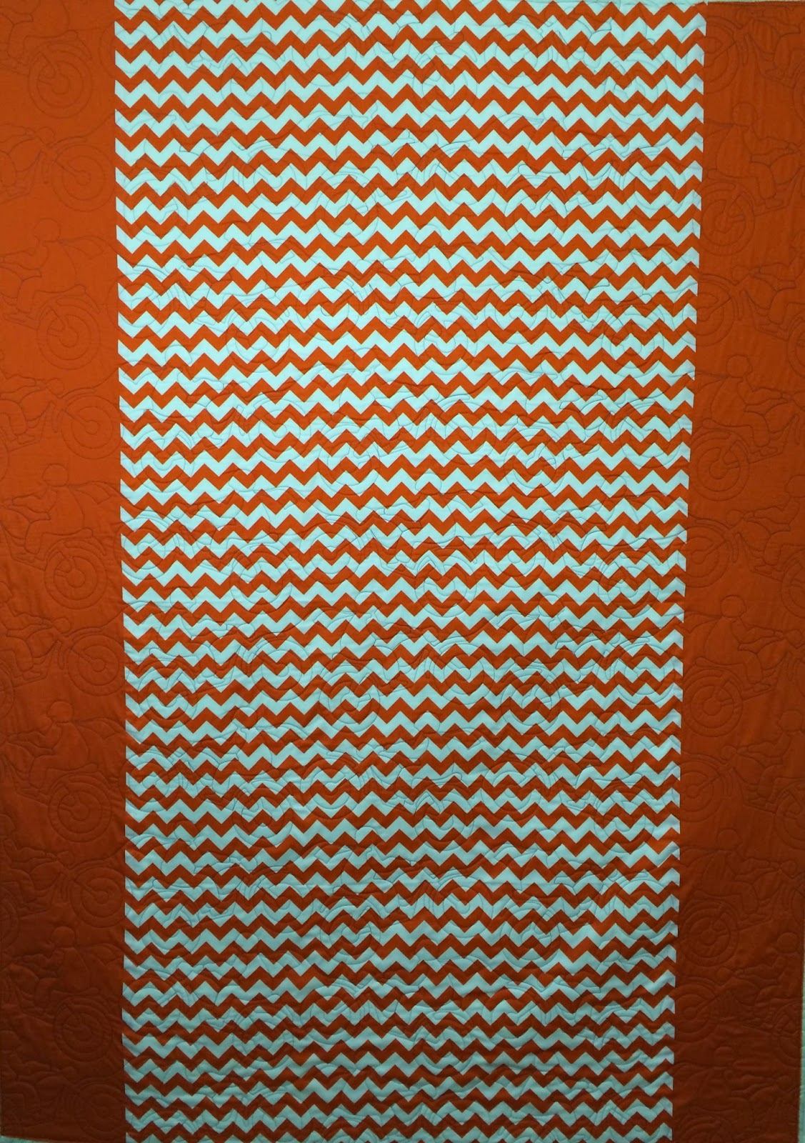 Donna St. Pierre's Zig-Zag Quilt