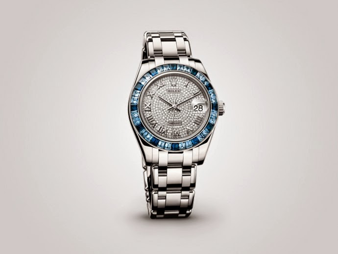 Rolex Lady Oyster Perpetual Datejust Pearlmaster 34