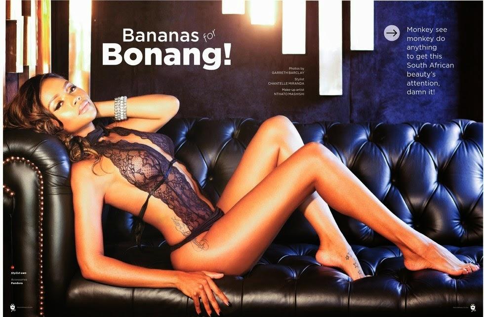 Bonang Matheba - MAXIM Magazine South Africa, April 2014