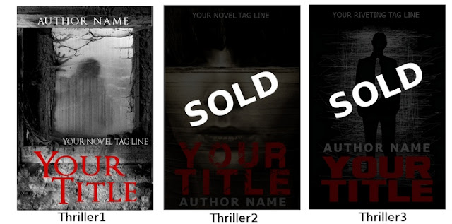 pre-designed book covers ebook thriller suspense horror