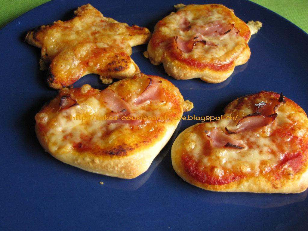 Backen und kochen mit kindern heute gibt es pizzaherzen - Kochen und backen mit kindern ...