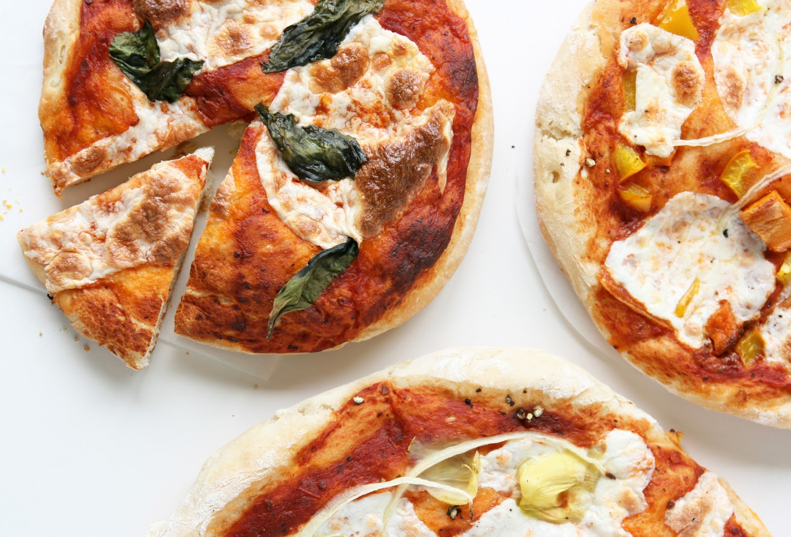 how to make pizza dough without yeast recipe