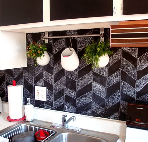inspired whims creative and inexpensive backsplash ideas