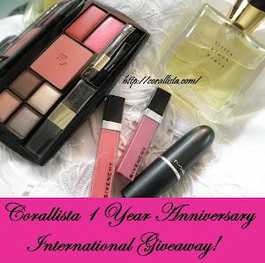 Corillista 1st Birthday Giveaway