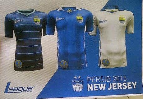 Persib Bandung Luncurkan Jersey Baru & Skuat ISL 2015