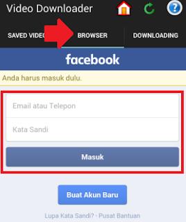 Cara Download Video Facebook Di Android