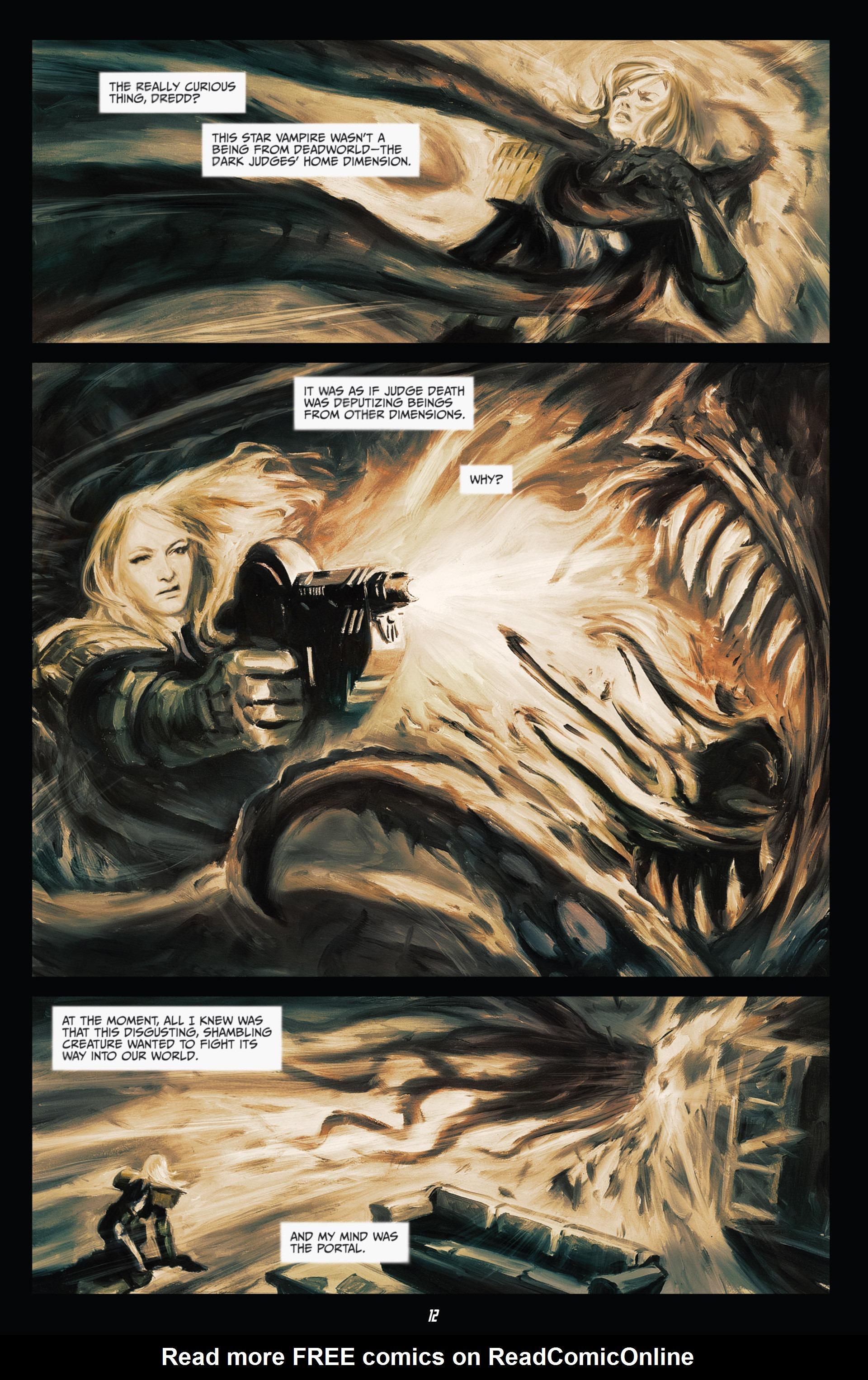 Read online Judge Dredd (2012) comic -  Issue #21 - 14