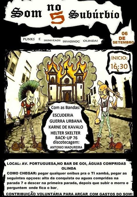 06-09-2014 - SOM NO SUBÚRBIO 5 - Olinda - PE