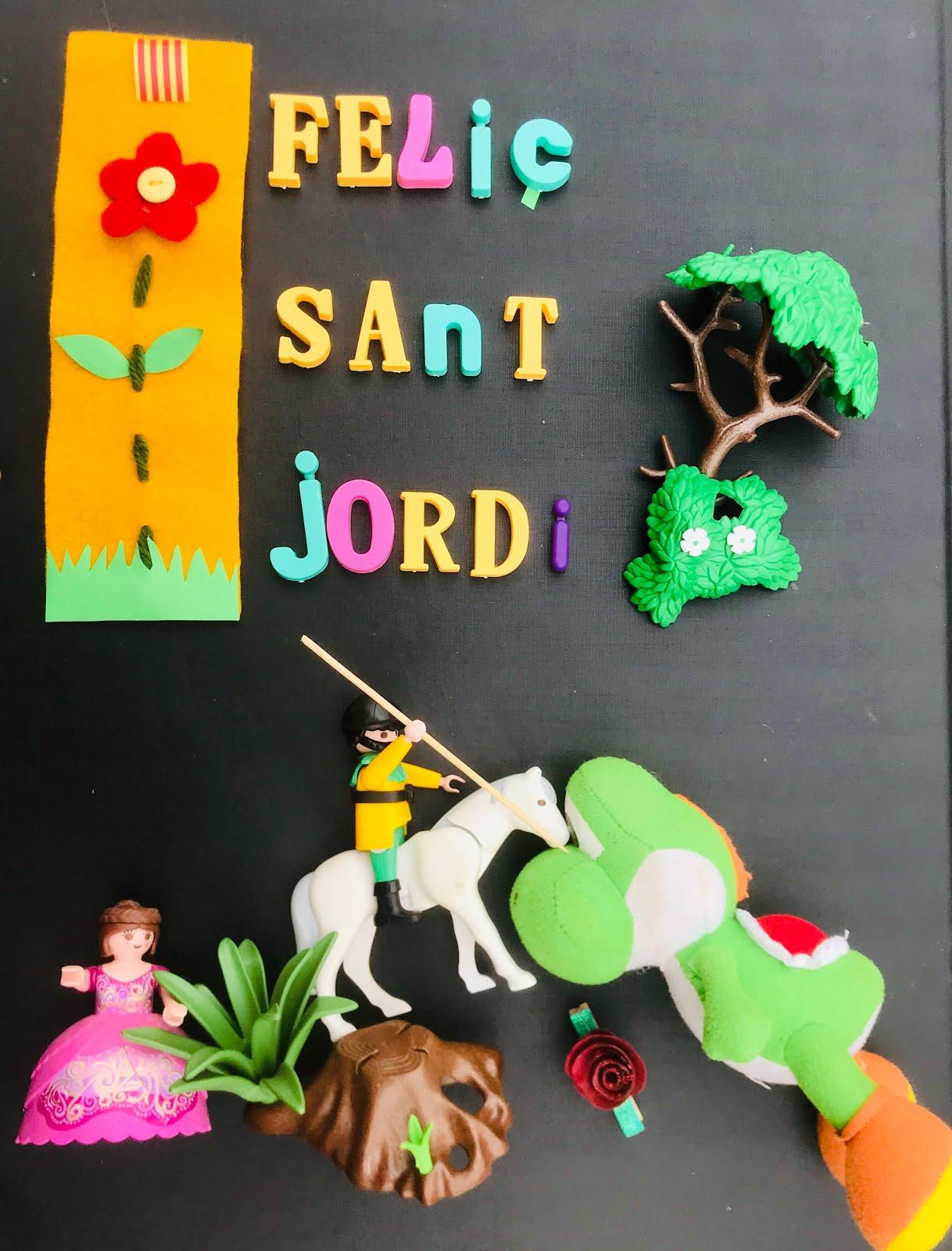 Celebrem  SANT JORDI