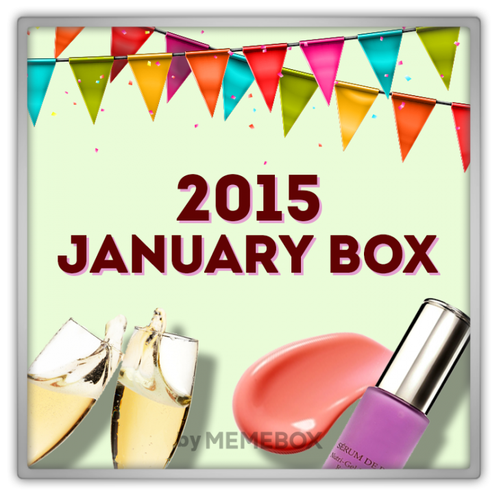 Memebox January Box GLOBAL #19 2015 미미박스 Commercial